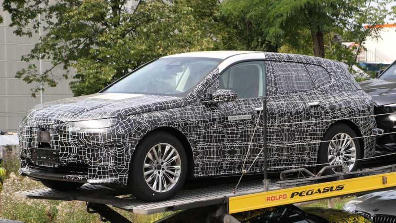 BMW iX Spy Shots