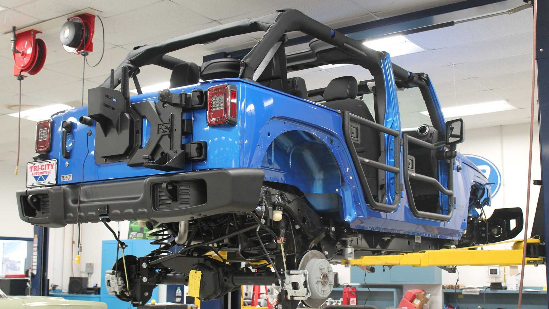 "[""A Look Back At The 2016 SEMA Cares Jeep Wrangler Build""]"