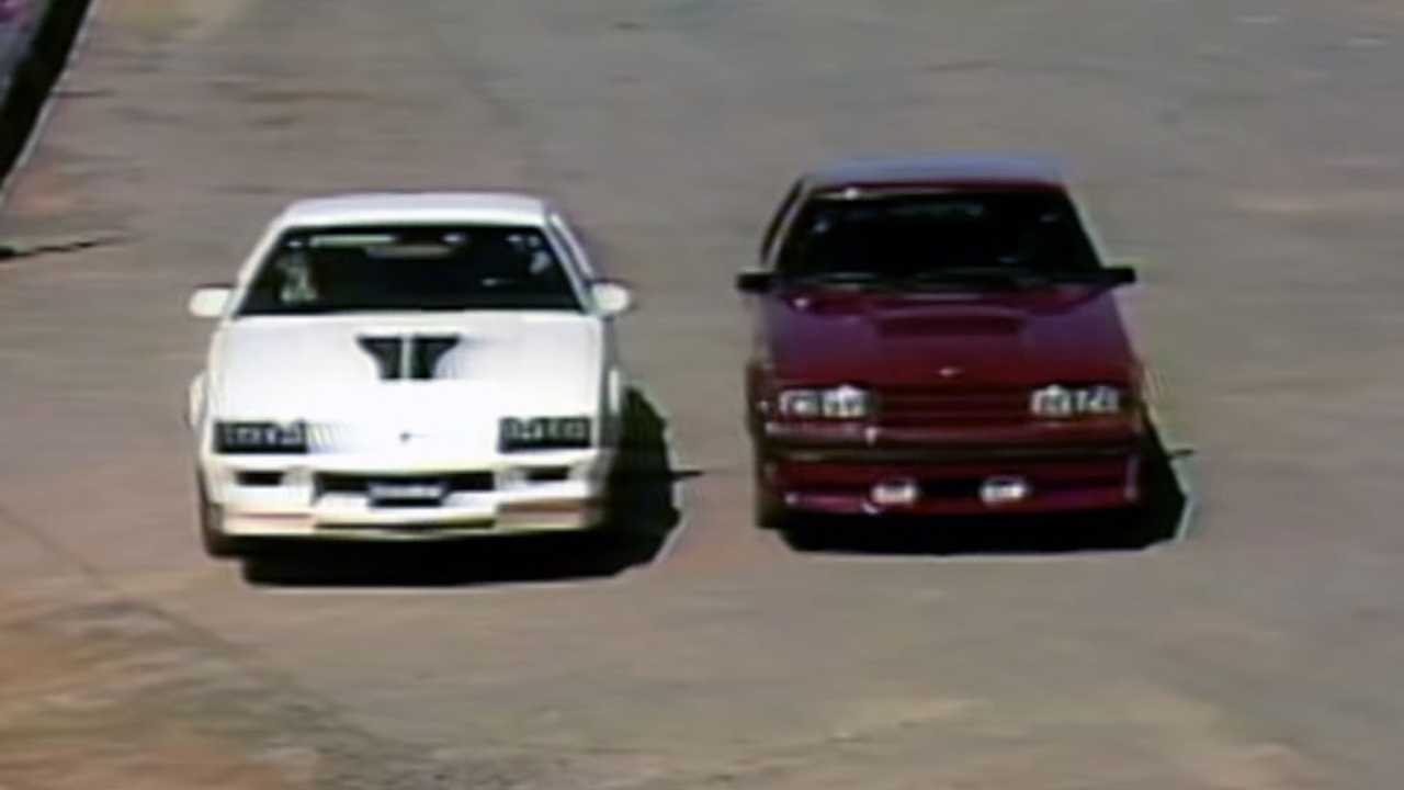 Watch This MotorWeek Comparison Of A Camaro Z/28 And Mustang GT From 1982