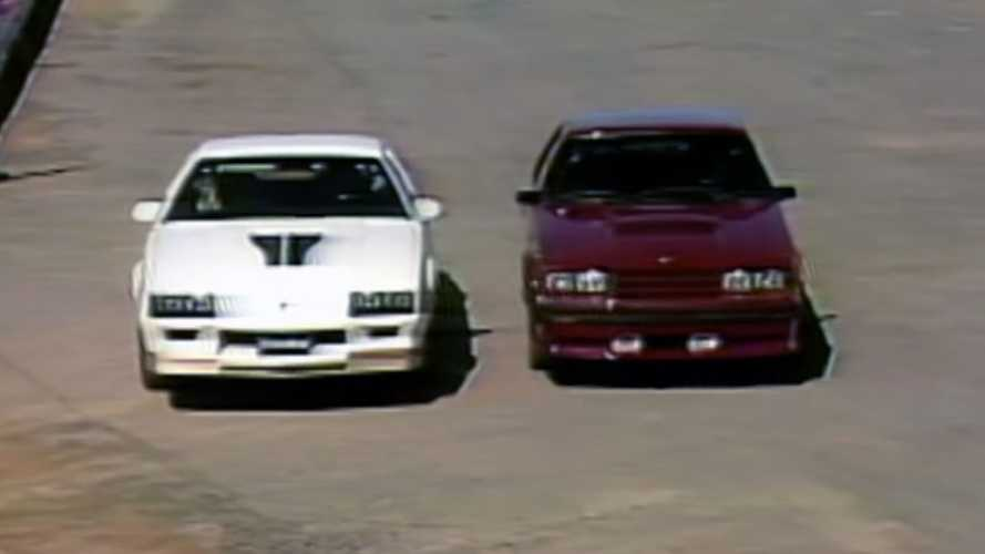 Retro Review: New 1982 Camaro Z/28 Takes On Fox-Body Mustang GT