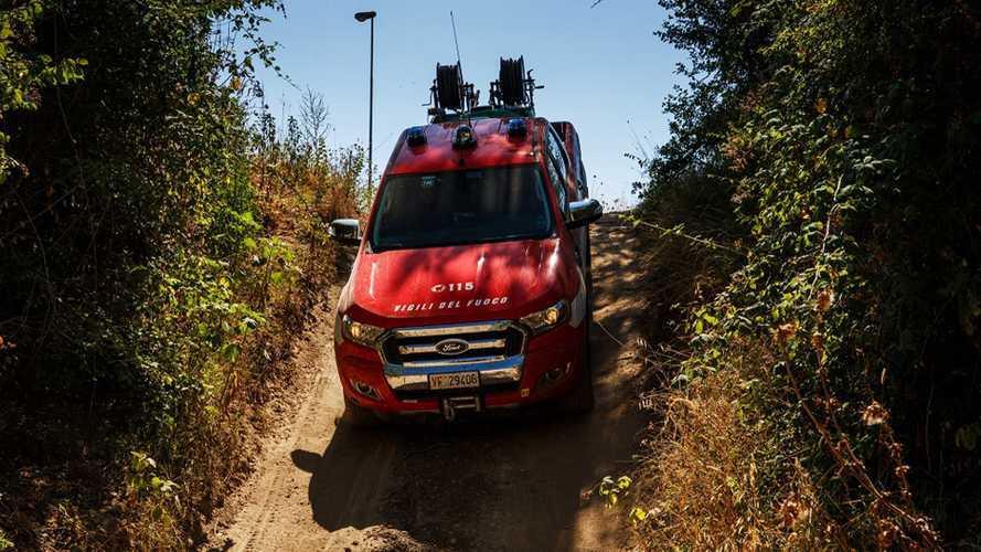 Con Ford Ranger i pompieri vanno a scuola di pick-up