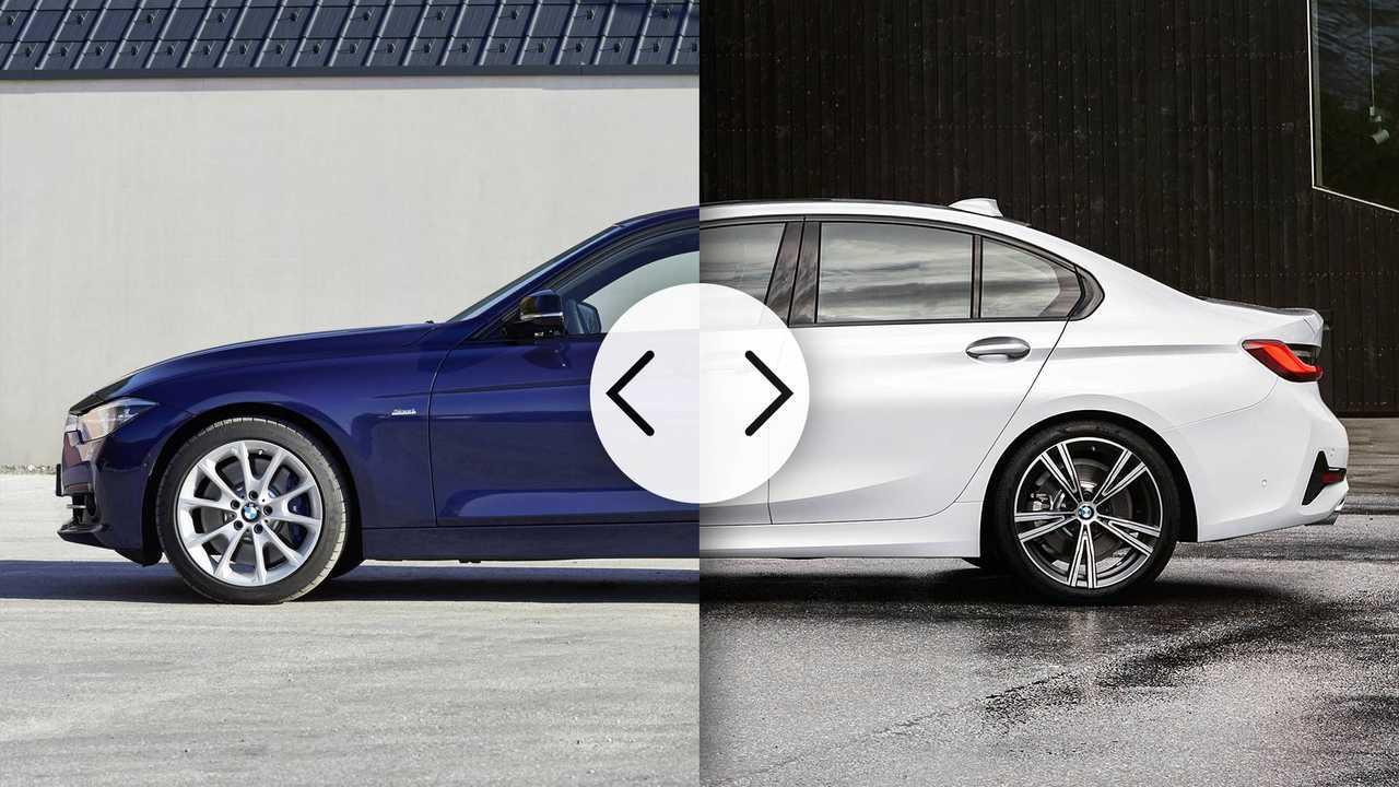 BMW Serie 3, nuova e vecchia a confronto
