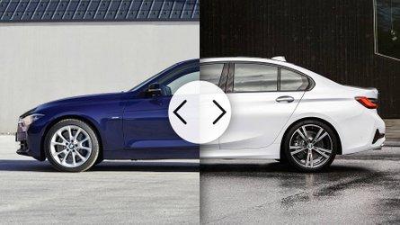 BMW Serie 3, vecchia e nuova a confronto