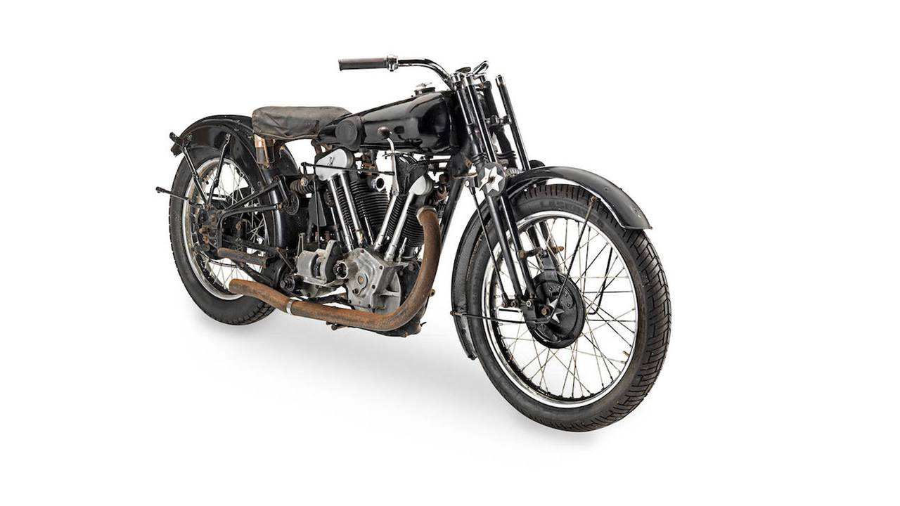 1933 Brough Superior SS100