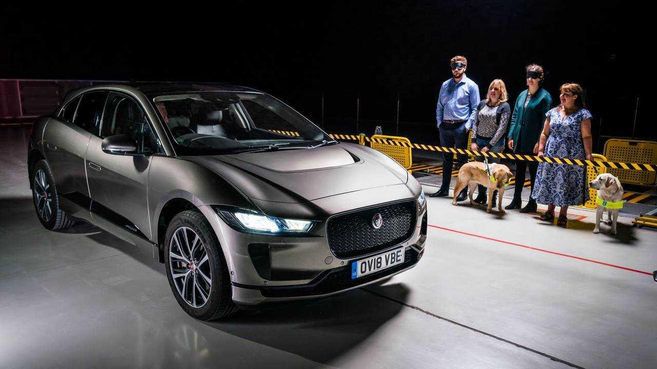 Jaguar I-Pace son artificiel