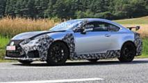 Lexus RC-F GT spy photo