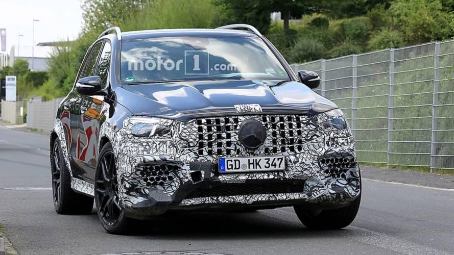 Mercedes-AMG, GLE 63 ve GLC 63 Coupe'yi test ederken yakalandı