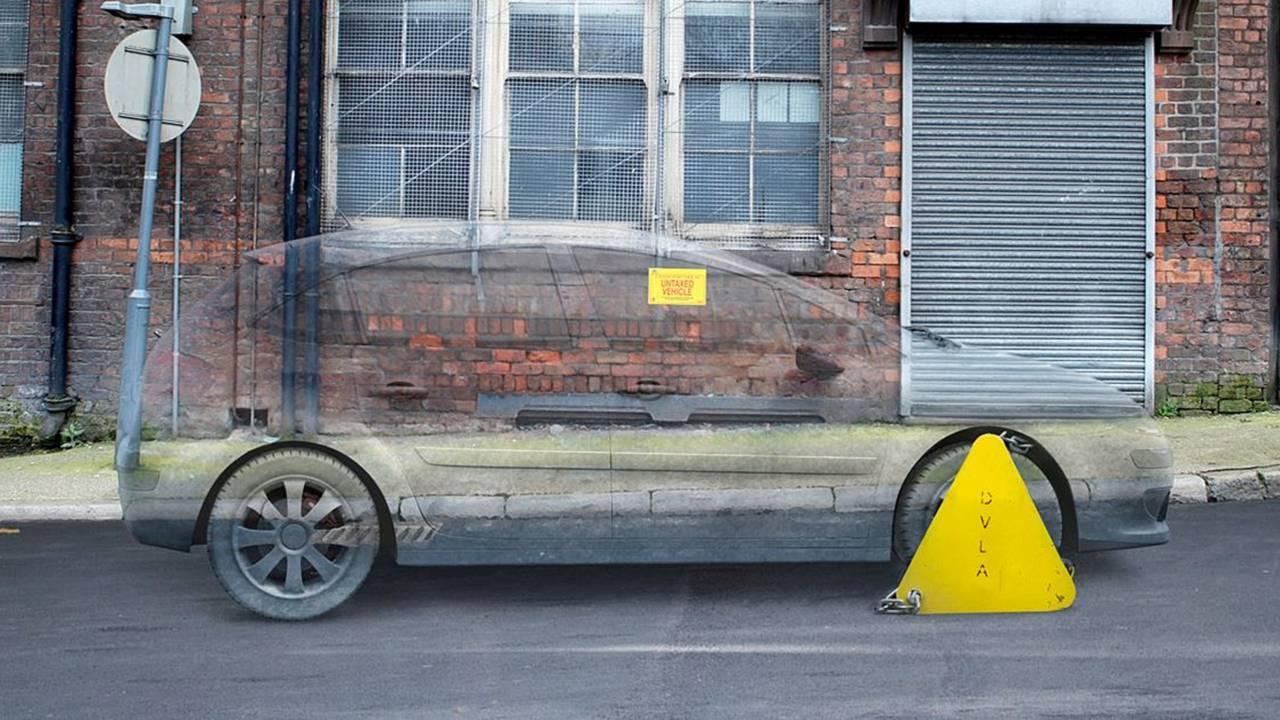 DVLA untaxed vehicle