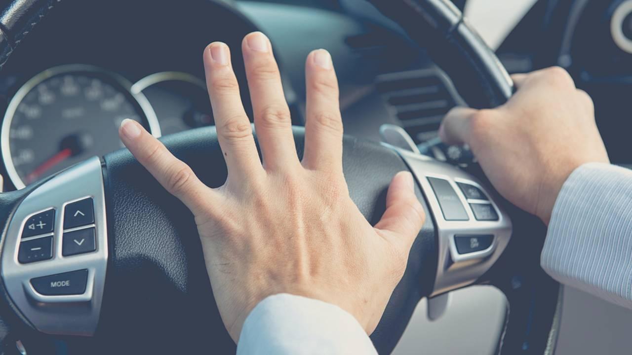 Driving stress warning