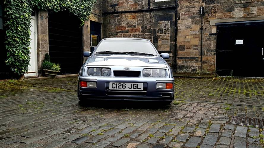 Un Ford Sierra Cosworth RS500 Wolf Racing, a subasta