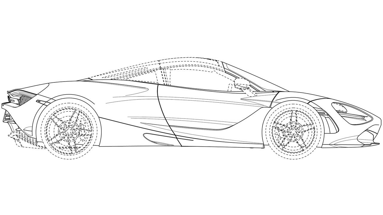 McLaren 720C Trademark Rendering