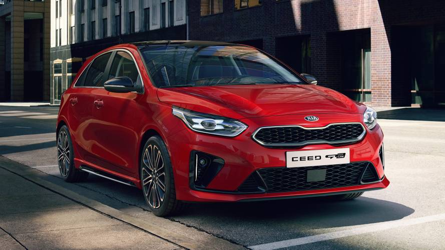 Kia Ceed GT Line Brings Style To Paris, But No Speed