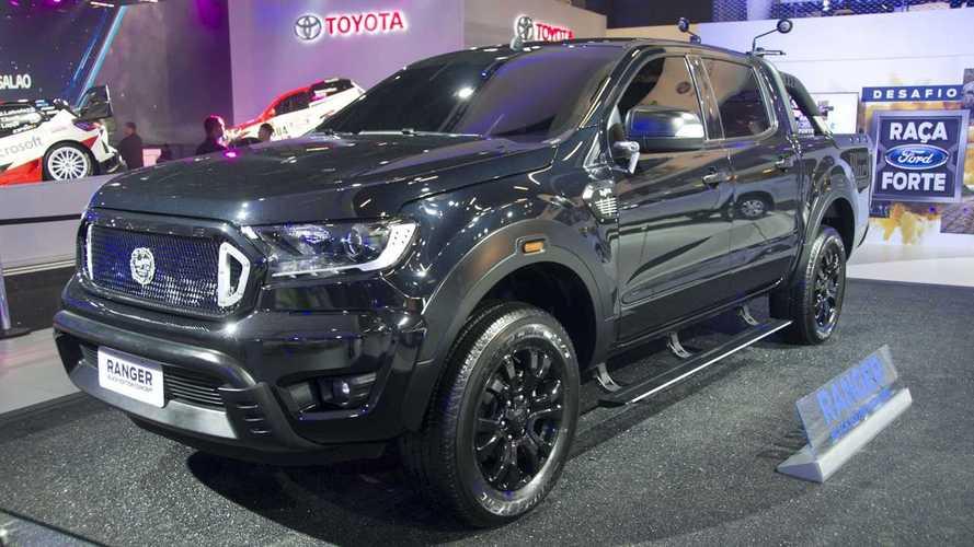 Ford, Brezilya'da Ranger'ın özel versiyonlarını sergiliyor