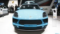Porsche Macan at the Paris Motor Show