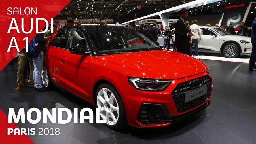 VIDÉO - L'Audi A1 en direct du Mondial 2018