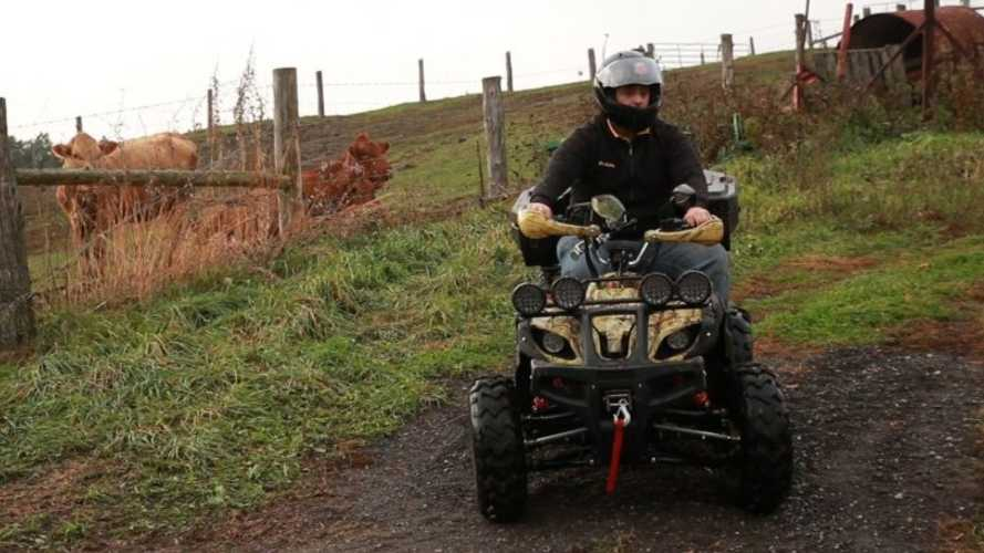Daymak Beast ATV Goes 225 Miles Per Charge
