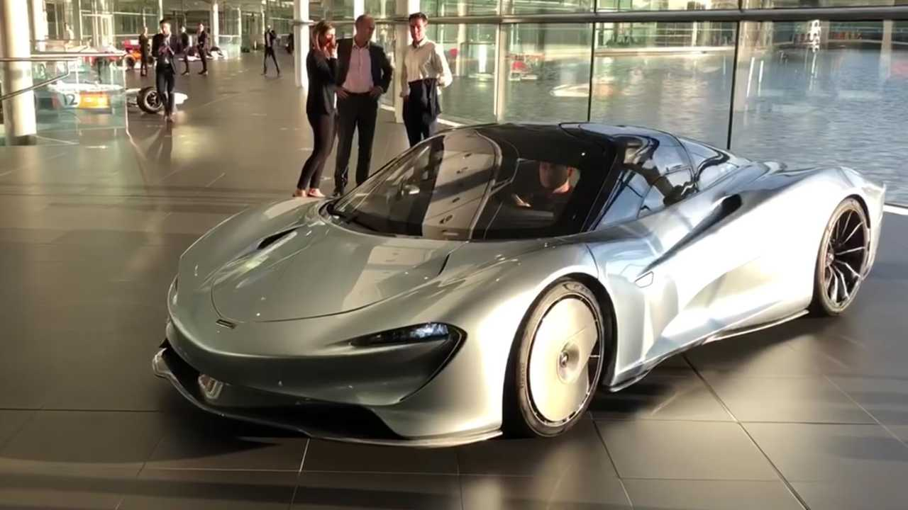 McLaren Speedtail On The Move Video