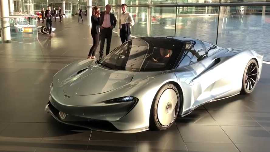 Watch the McLaren Speedtail in motion
