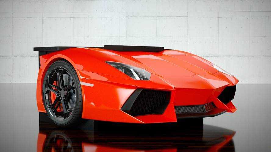 Ahora puedes tener un Lamborghini Aventador en tu habitación