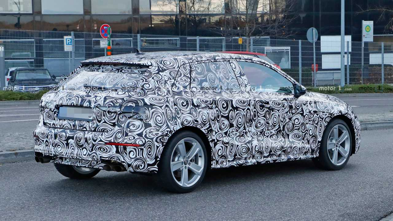 Audi S3 Sportback Spy Photo