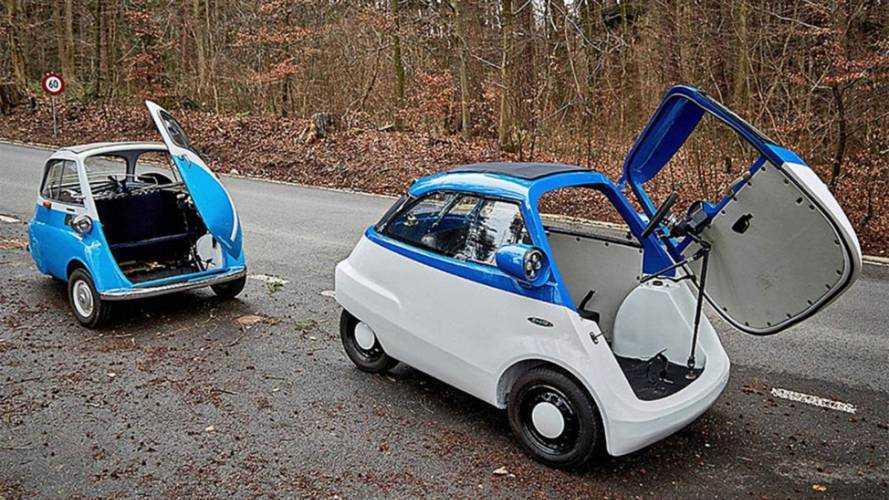 Günümüzün BMW Isetta'sı Microlino