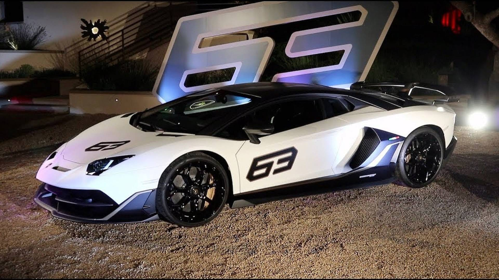 Lamborghini Aventador Svj 63 Looks Wild In Video Debut