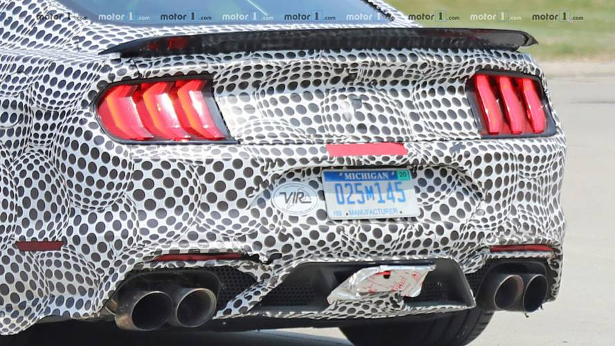 2019 Mustang Shelby Gt500 Spied With Track Pack Spoiler