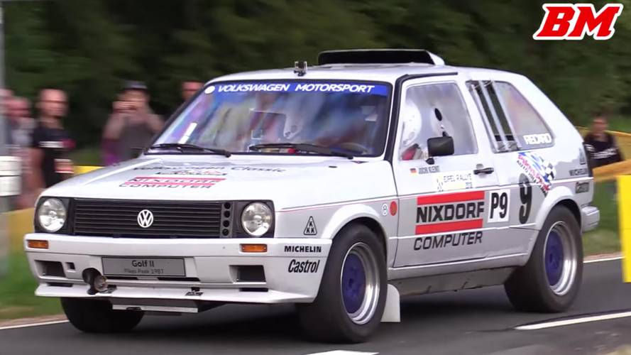 Twin-engined GTI duo pulled out of collection for some rally fun