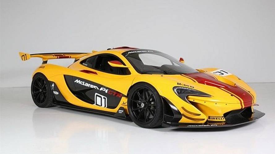 You Can Buy The First McLaren P1 GTR And Drive It On The Streets