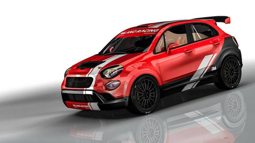 La Fiat 500X da rally by Oreca