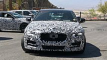 Jaguar XE Facelift spy shots