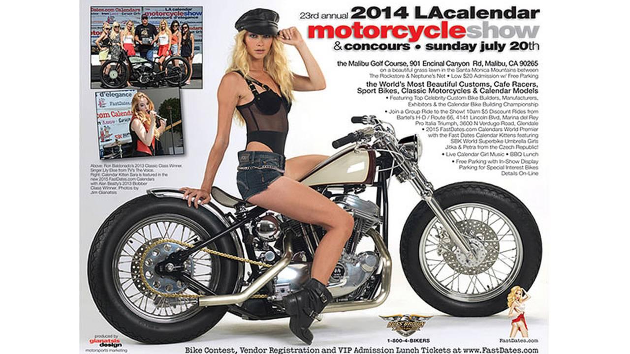 2014 LA Calendar Motorcycle Show