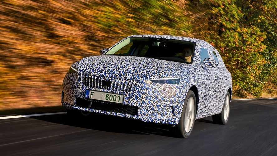 Skoda Scala 'official' spy photos, first details released