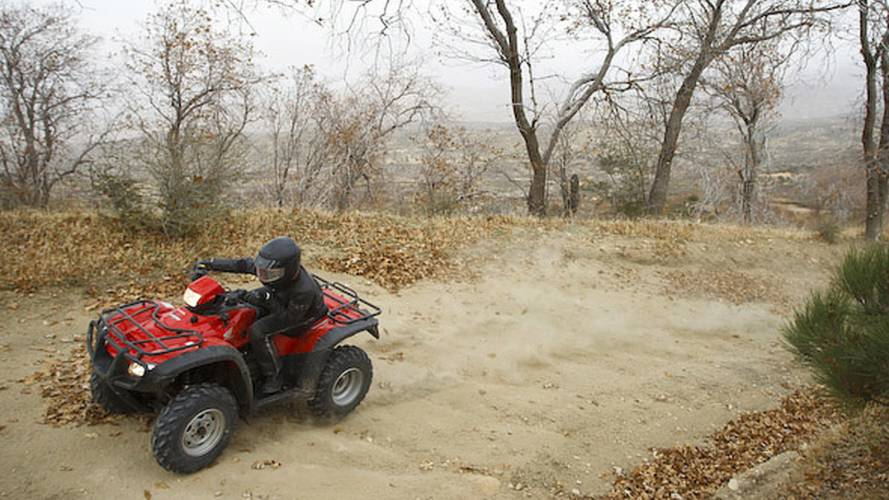 2012 Honda Rubicon Utility ATV is working for the hoon
