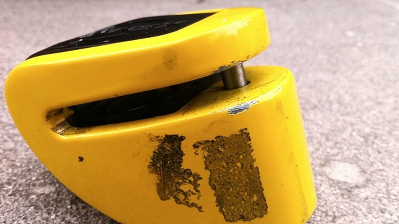 Gear: Xena XX6 disc lock alarm