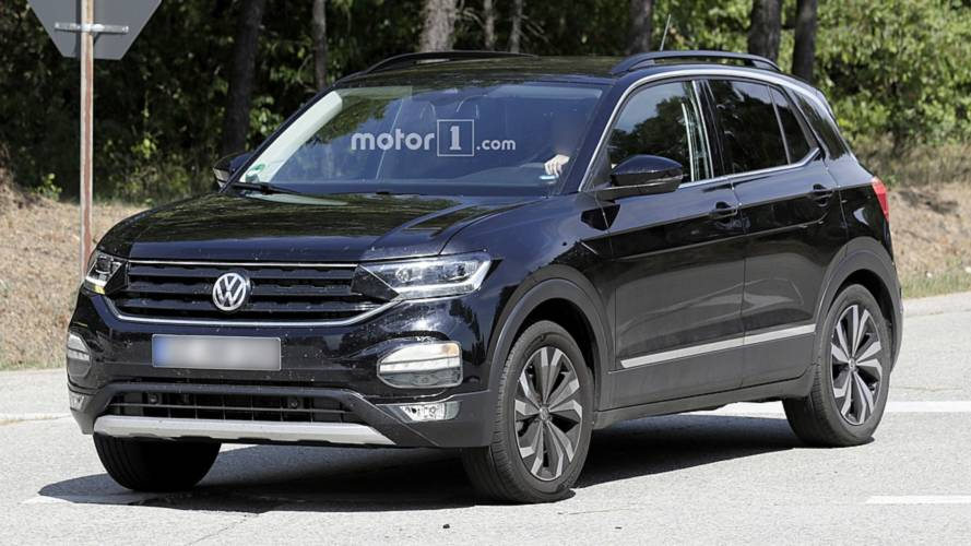 2019 VW T-Cross Loses Most Camo In Fresh Spy Shots