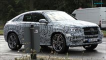 Mercedes-Benz GLE Coupe spy screenshot