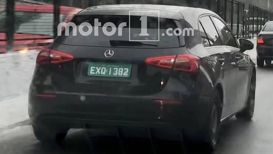 Flagra novo Mercedes Classe A no Brasil