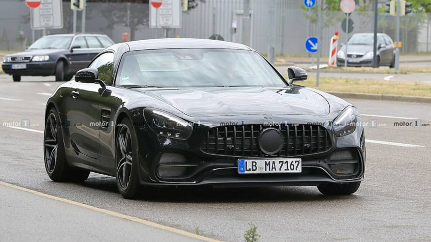 Mercedes-AMG GT Spotted With A Facelift – Or Actually, Butt Lift