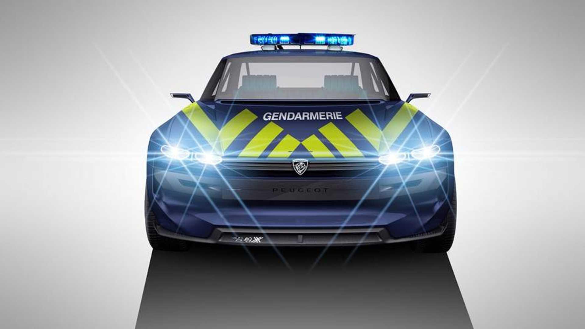 La Gendarmerie Un Jour En Peugeot E Legend