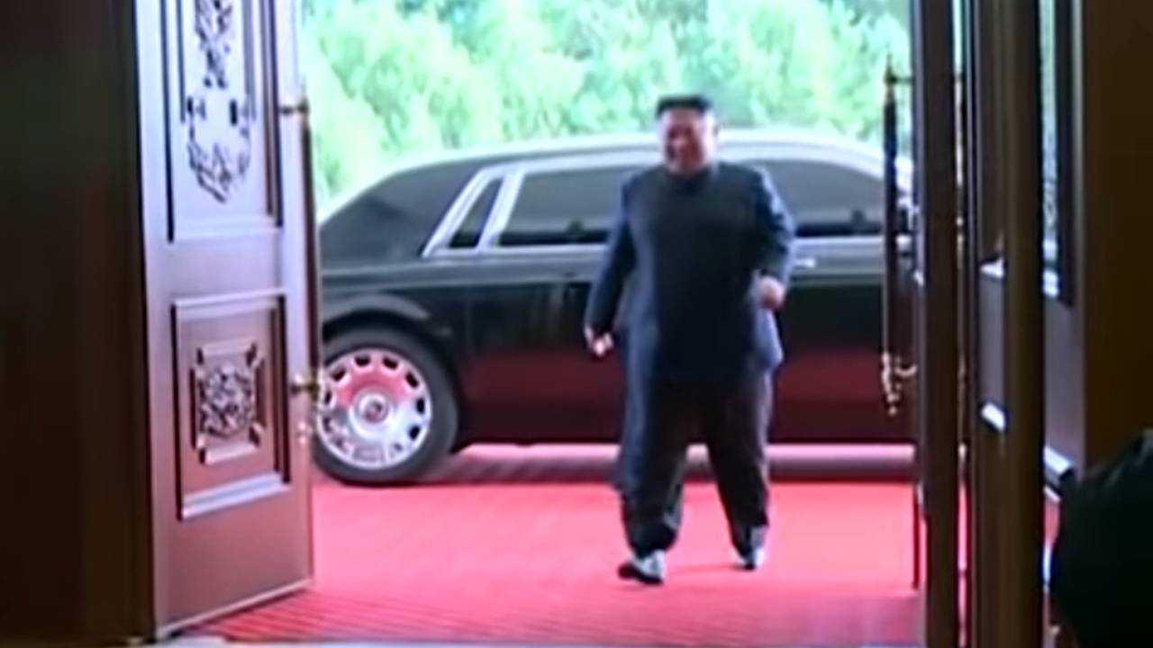 Kim Jong-Un Rolls-Royce
