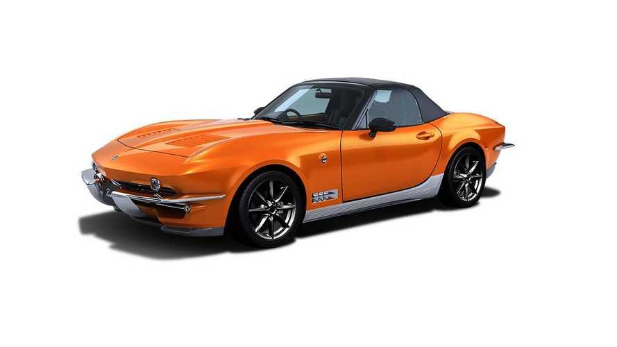 Ceci n'est pas une Corvette... mais bien une Mazda MX-5 !