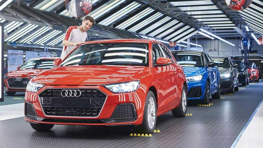 Novo Audi A1 2019 começa a ser produzido ao lado do primo Ibiza