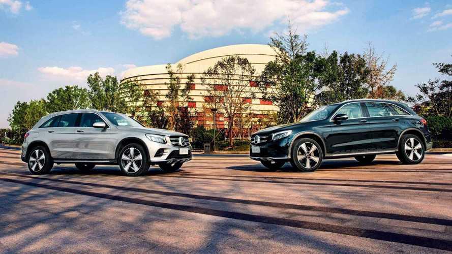 Mercedes GLC'nin Çin'e özel uzun şasili versiyonu duyuruldu