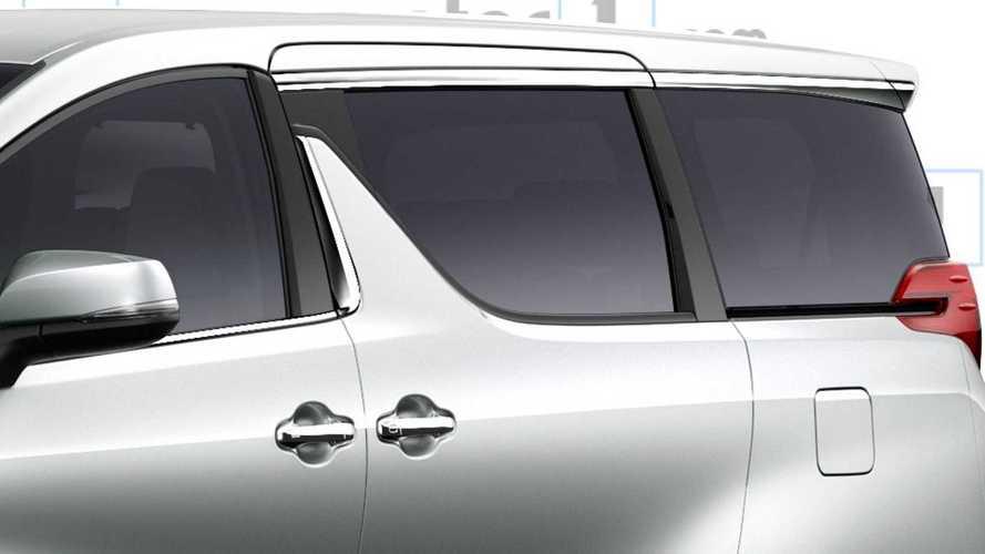 Lexus Minivan Rendering