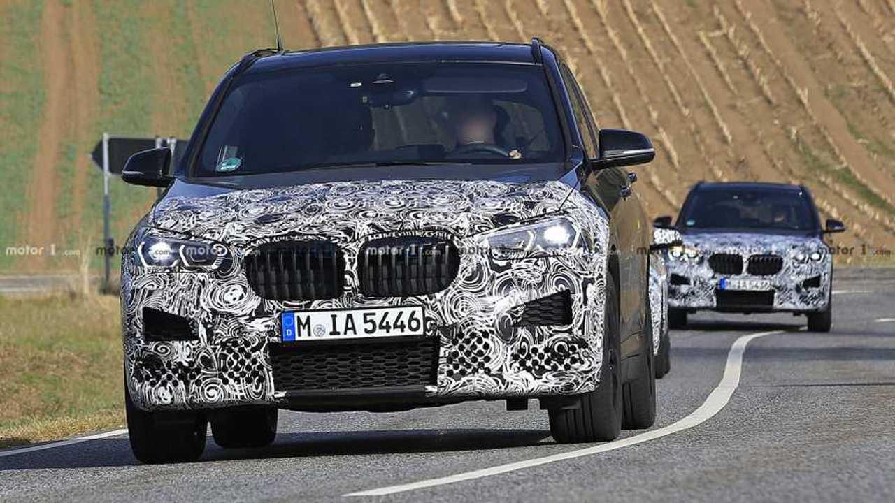 2019 BMW X1 spy photo