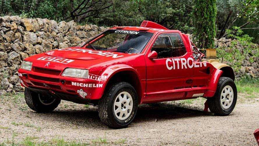 Citroen ZX rallye raid 1991