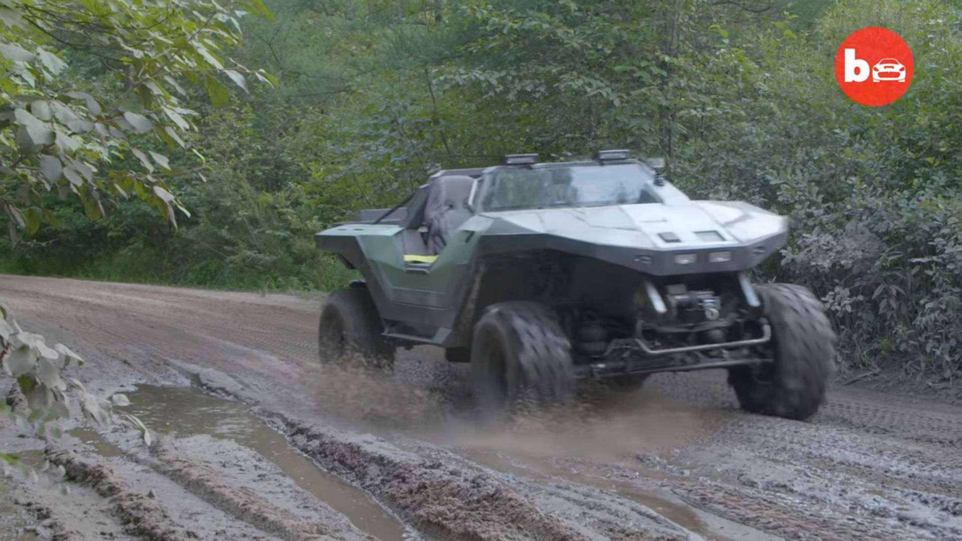 Someone Turned A Chevy Pickup Into Awesome Halo-Inspired Warthog