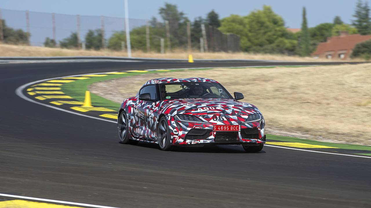 2019 Toyota Supra Prototype First Drive: Return of Toyota's