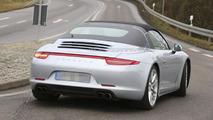 2014 Porsche 911 Targa spy photo